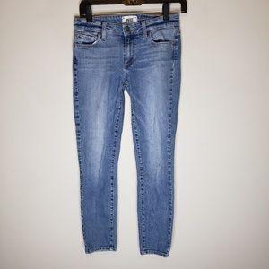 Paige Medium Wash Skinny Jeans Size 27